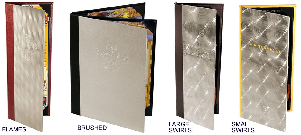 Aluminum Menu Covers Jr Sales Corp